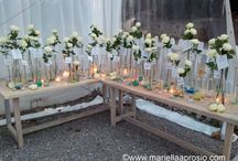 SEATING ESCORT CARDS / wedding flower design