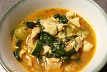 Spinach chx soup