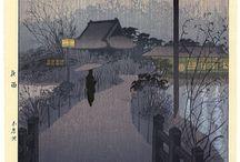 JAPANESE ART - LANDSCAPES