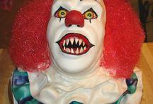 Halloween clowns, circus, sideshow theme / by Lori Schilkowski
