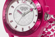 Watches / All kinds of watches. Different shapes, sizes and colors. Women's watches