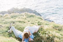 Engagement Session Style: What to Wear / Fine Art Wedding Photography Inspiration. What to wear to Engagement Session using Fuji 400h Film.