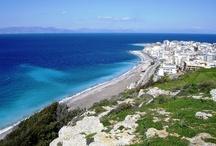 New Town Rhodes Island Greece  / Rhodes Island Greece - The New Town