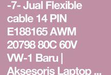 Flexible Cable 14 Pin E188165 Awm 20798 80c 60v Vw-1