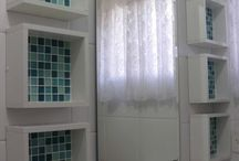 nichos para banheiro s