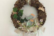 Dekorace velikonoce / Velikonoční dekorace