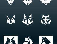 Logo-wolf/fox