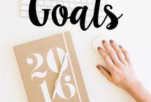 Goal Setting - Hustle Hard