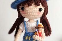 muñeca jardinera