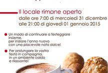 Flyer eventi CAFFE' ZANARINI