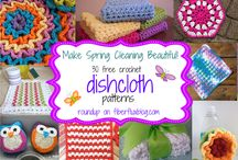 Crochet ~ Home Decor & Accessories / Washcloths, hand towels, scrubbies..... / by Eve Slacum-Myers
