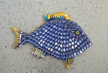 bottlecap fish