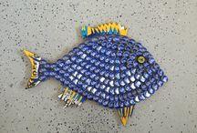 bottlecap fish