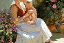 mother @ child