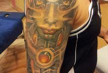 tattoo / Colour's- Black and gray tattoo