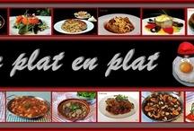 de plat en plat