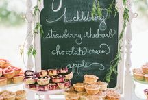 Sweets and Treats / Sweet and sumptuous wedding desserts that will arouse your senses and leave a lasting impression.