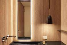 Baths with wood