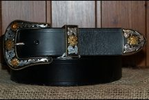 Handmade Leather Belts. / A selection of our belts using only full grain, vegetable tanned leathers. Our products at Decuero Leather (www.theleathershop.biz) and those of other leatherworkers who use this unique material.