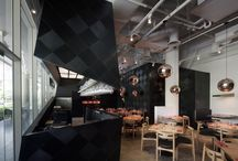 Interiors - Restaurants / by Shannon Webster