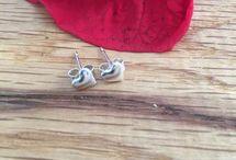 Valentines Jewellery / Handmade silver jewellery jewellery - perfect Valentines Day gift ideas.