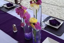Centerpieces / Table settings and centerpieces
