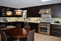Modern Kitchen Renovation & Custom Cabinet Design in Toronto and Thornhill / Please feel free to give us a call if you are thinking of doing any high quality modern kitchen renovations in the Toronto, North York, Thornhill, Richmond Hill and surrounding areas to book a free consultation and estimate!
