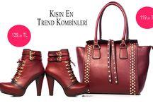 Ayakkabı & Çanta Kombinleri / Ayakkabı ve çanta kombinleri