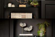 Bookshelf Styling / Decorating bookshelves, built-ins, display, ikea hacks, shelf arrangement, book storage, small spaces, entertainment center, bookshelf organization, shelf decorating, shelf styling, bookshelf, bookcase styling