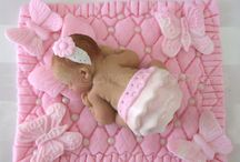 christening/ baby cakes