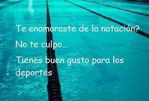 natación!