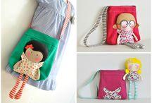 bolso con muñecas