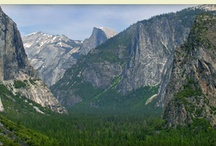 Places I'd Like to Go / Mostly Beautiful pics of Yosemite National Park. Colorado may find it's way in there .. or maybe India. But Yosemite is where my heart is.