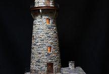 majáky a veže