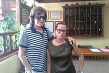 Celebrities en Hotel Finca Los Llanos / Personas famosas que se hospedan con nosotros. Celebrities staying at Hotel Finca Los Llanos.