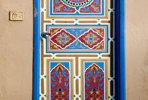porta pintada