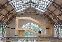 """Bam System - Bâtiment Autonome Modulaire / Exposition accueillie au Pavillon de l'Arsenal jusqu'au 21 juin Le Pavillon de l'Arsenal accueille un prototype de """"BAM System"""", principe constructif permettant la fabrication de bâtiments autonomes modulaires, développé par Biotopes Architecture & Design."""