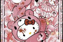 Hello Kitty Art by  Sean D'Anconia (Daconia Creative) / http://www.danconiacreative.com/category/super-pop-art/themes/hello-kitty-art/