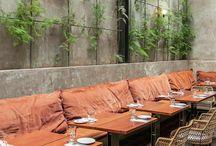 Restaurantes con suelos de madera
