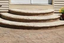 Decorative Concrete Steps