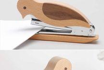 Wooden gadged