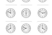 Logopädie und Uhrzeiten