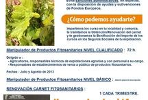 Curso Manipulador Productos FITOSANITARIOS Toledo