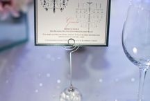 Table Stationery / A selection of handmade wedding and event table stationery designed to suit your theme.