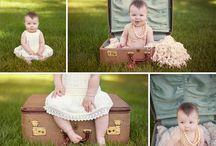 Hadlee Six Month Pics / by Marissa Wright