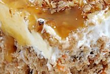 Carrot Cake & Banoffee / cakes & cupcakes recipes