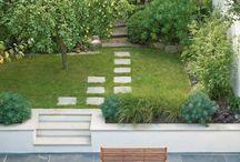 jardin muret terrasse