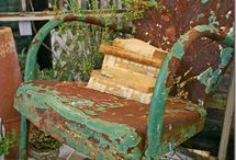 Patina/Rust/Peeling Paint / by Denver Toth
