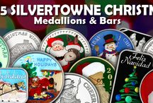 2015 Christmas / 2015 Christmas rounds and medallions minted by SilverTowne - silver and bronze