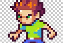 Pixel Art: Tutorials / Pixel art tutorials from the web. / by Retronator